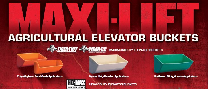 Maxi-Lift Agricultural Elevator Buckets